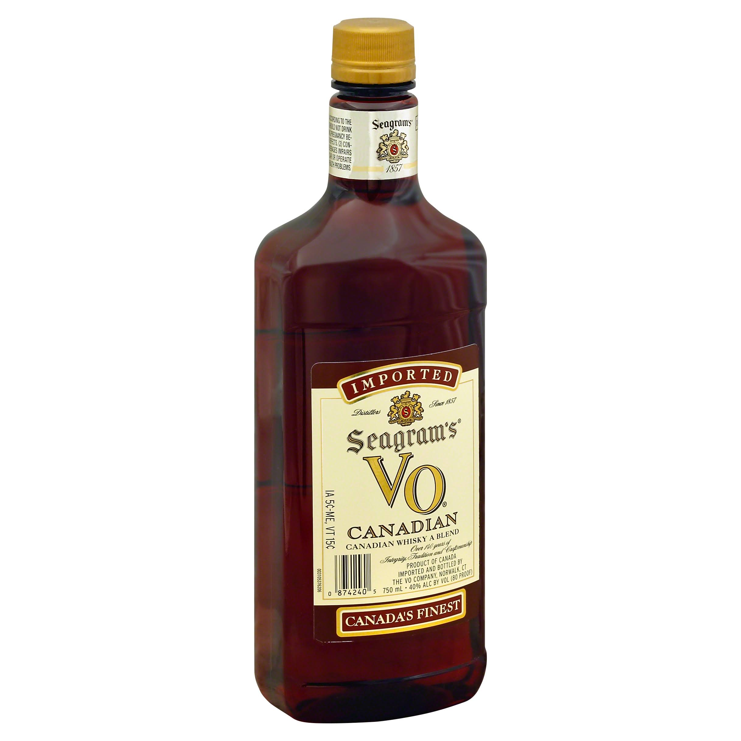 Seagram's V.O. Blended Canadian Whiskey