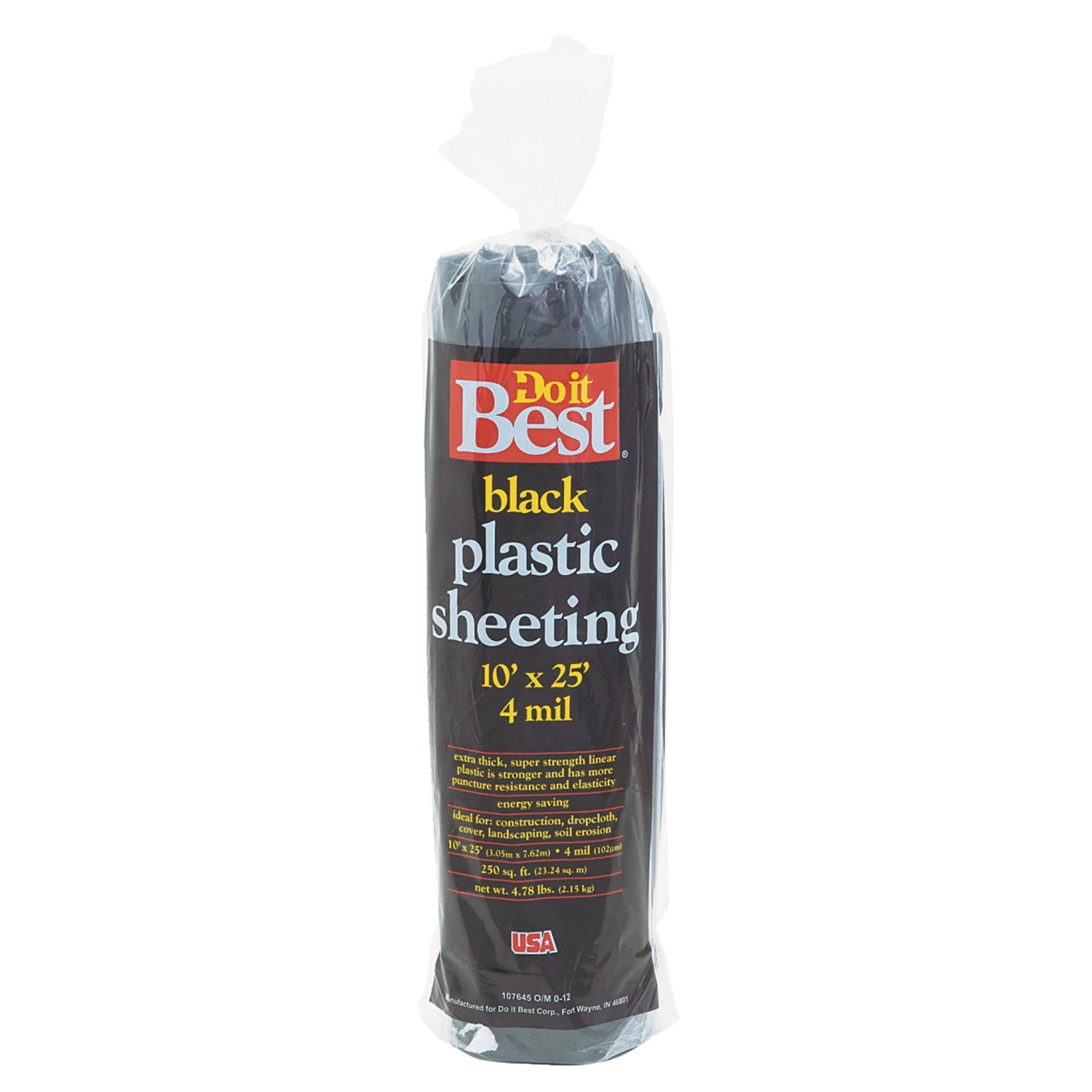 Do It Best Plastic Sheeting - 626162