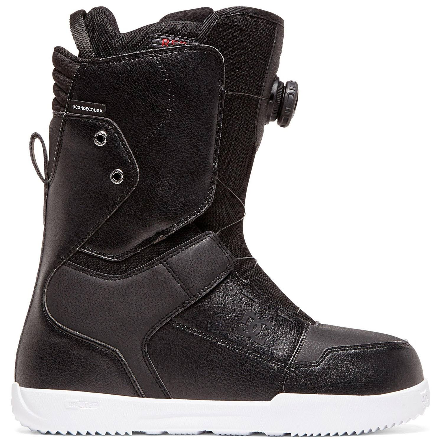 DC Shoes Mens Scout Boa Snowboard Boots - Black / 11