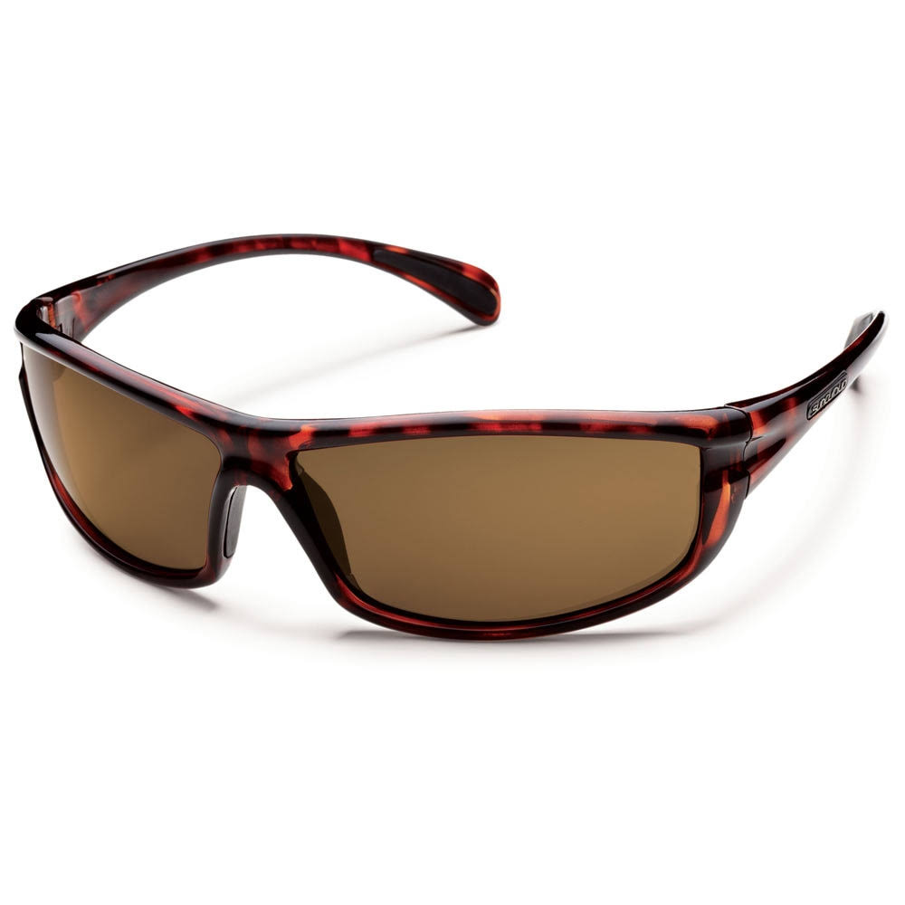 Suncloud King Polarized Sunglasses - Tortoise Frame, Brown Polycarbonate Lenses