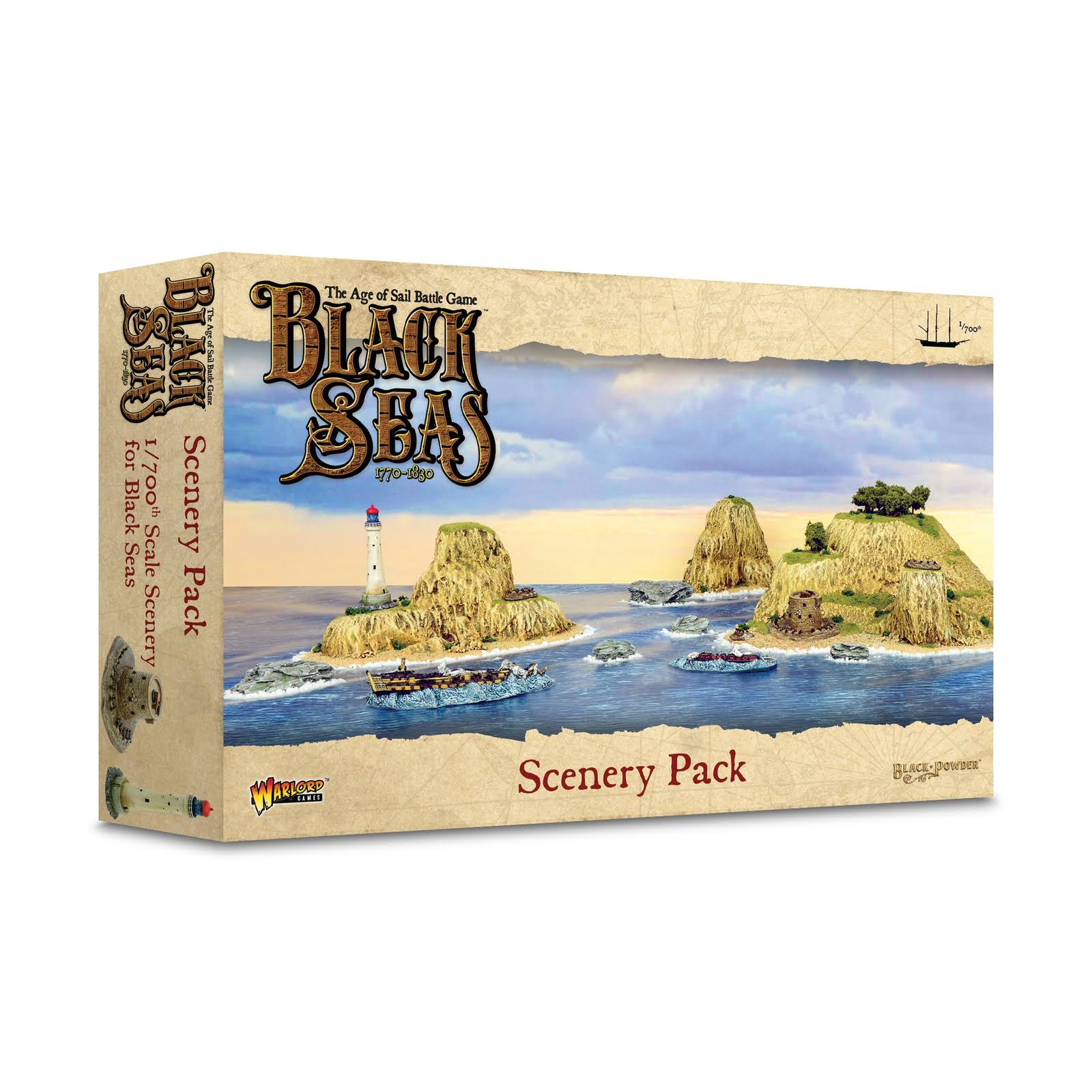 Black Seas 1/700 Scenery Pack New