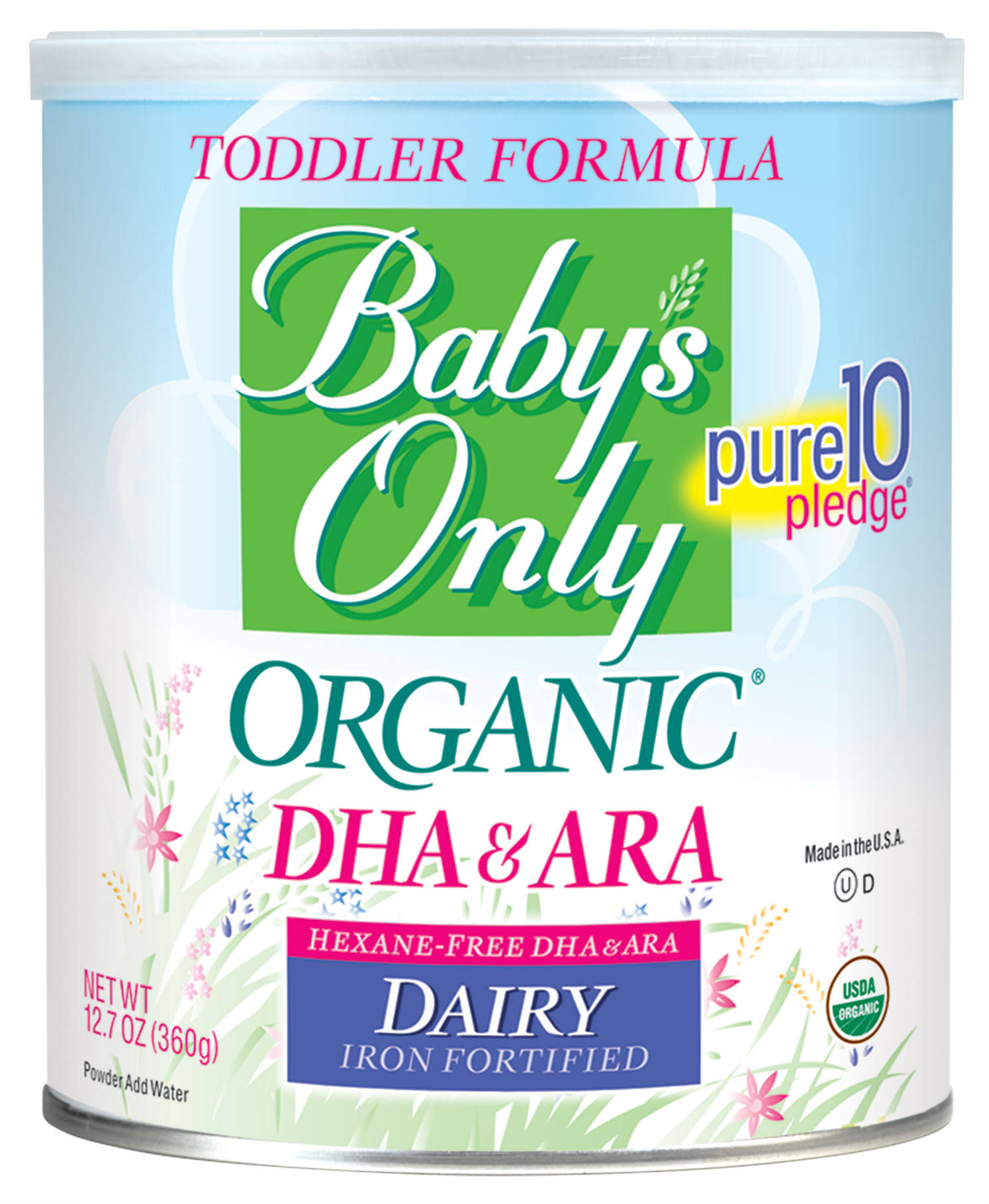 Baby's Only Organic With DHA & ARA Milk