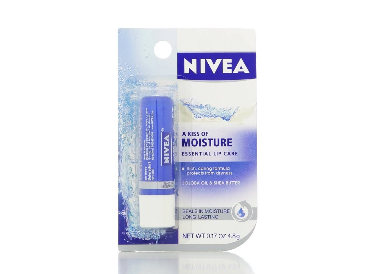 Nivea Moisture Lip Care Balm - 0.17oz