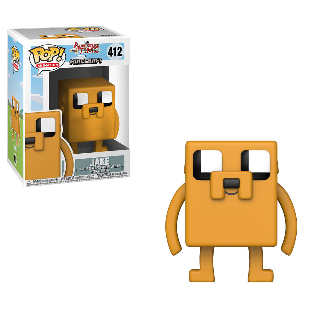 Funko Pop! Adventure Time X Minecraft Jake Vinyl Figure