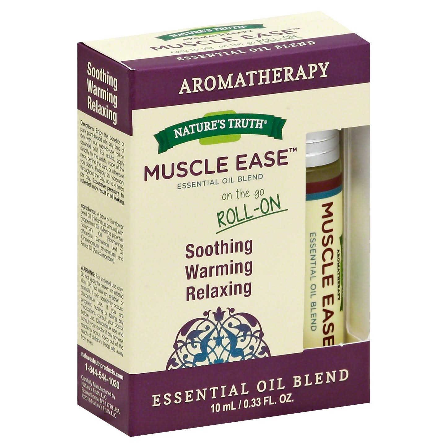 Nature's Truth Muscle Ease Aromatherapy Essential Oil Blend - 10ml