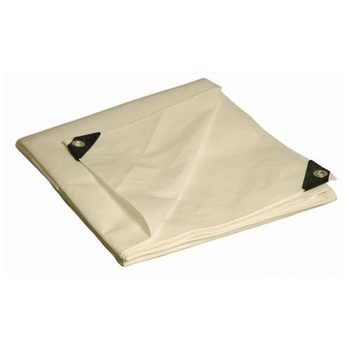 Foremost Heavy Duty Tarp - White, 8' x 10'