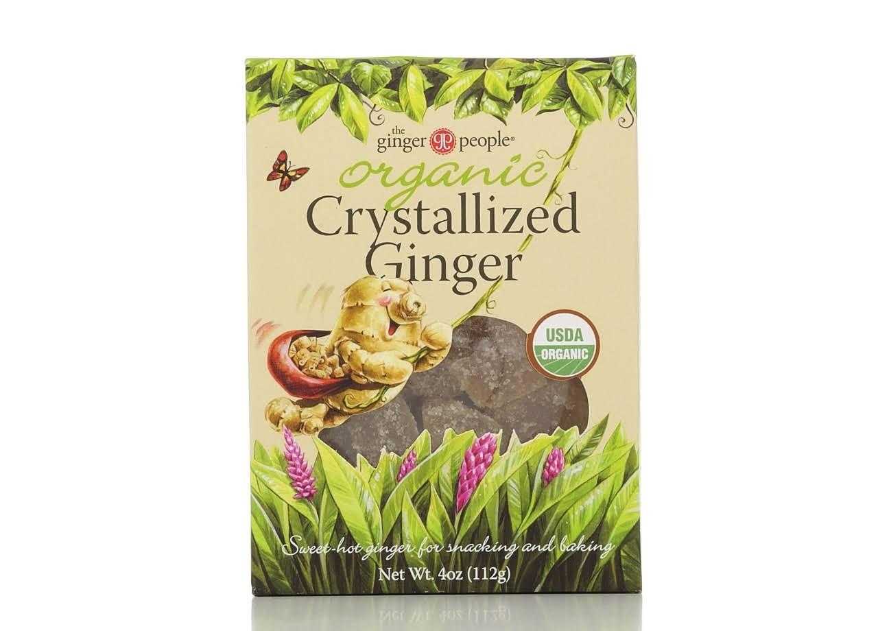 The Ginger People Organic Crystallized Ginger