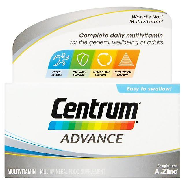 Centrum Advance Multivitamins Tablets - 30ct