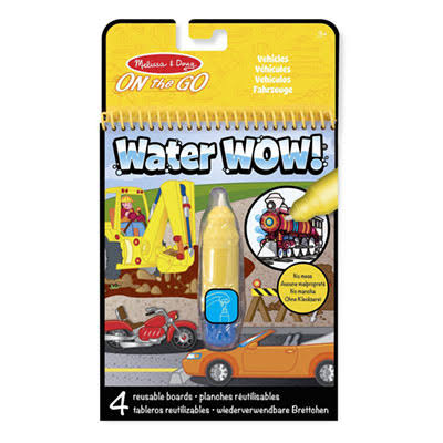 Melissa & Doug On the Go Water Wow Colouring Book