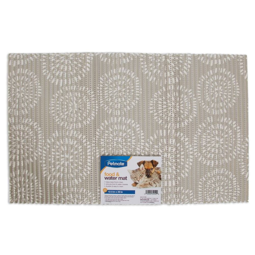 Petmate Ribbed Foam Food Mat