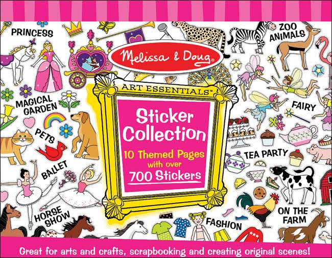 Melissa & Doug Sticker Collection