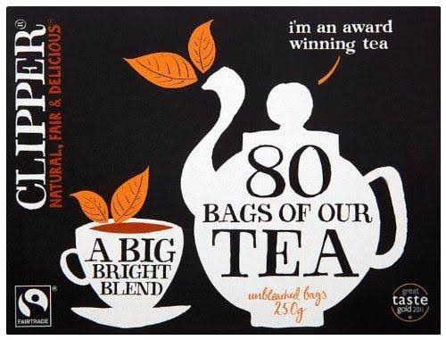 Clipper Black Tea - 80 Teabags