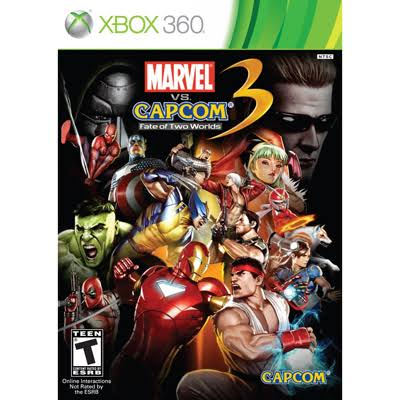 Marvel vs Capcom 3: Fate of Two Worlds - Xbox 360