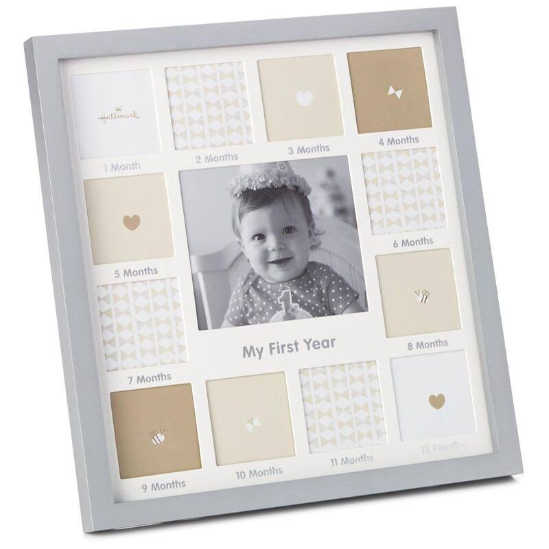 Hallmark My First Year Collage Picture Frame