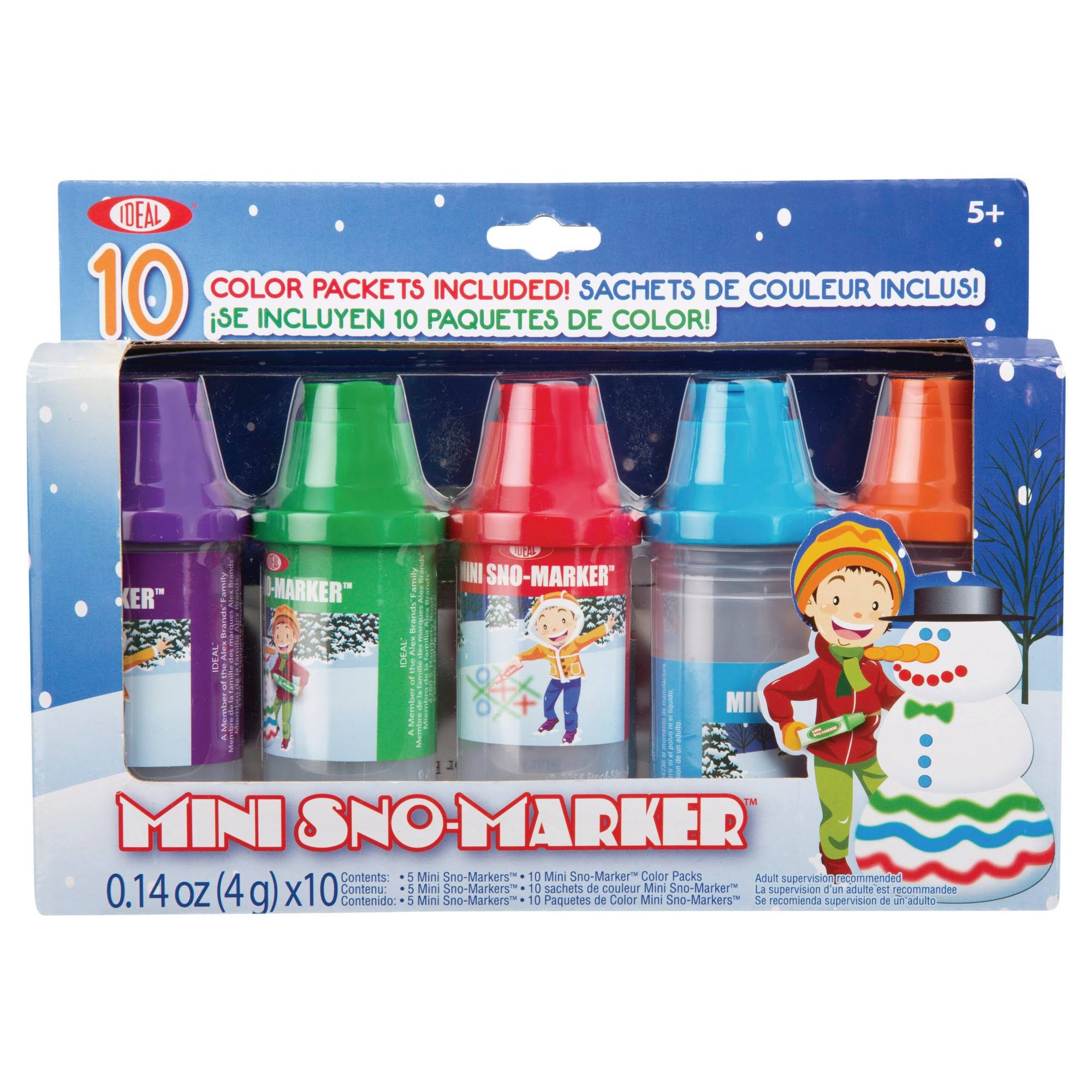 Ideal Mini Sno Markers Toy