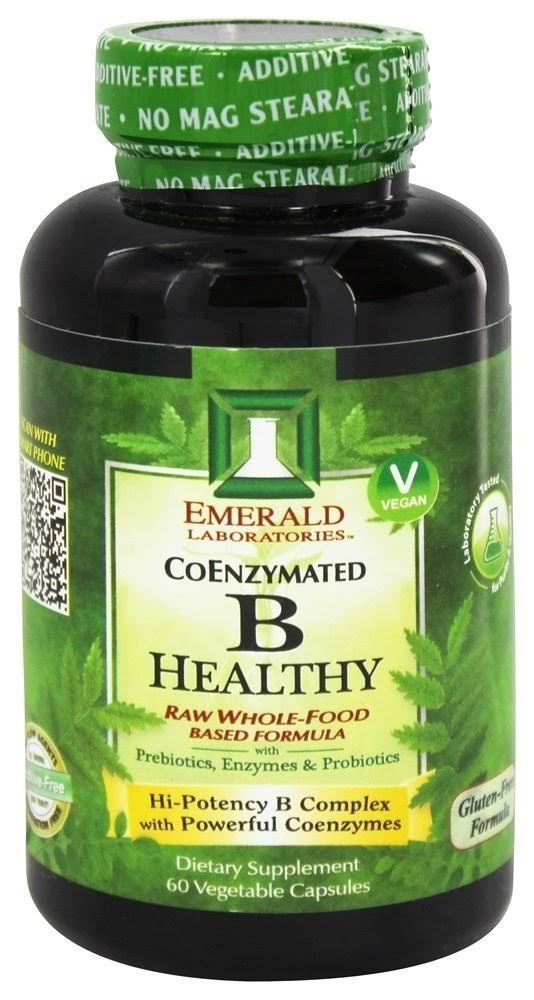 Emerald Laboratories CoEnzymated B Healthy - 60 Vegetable Capsules