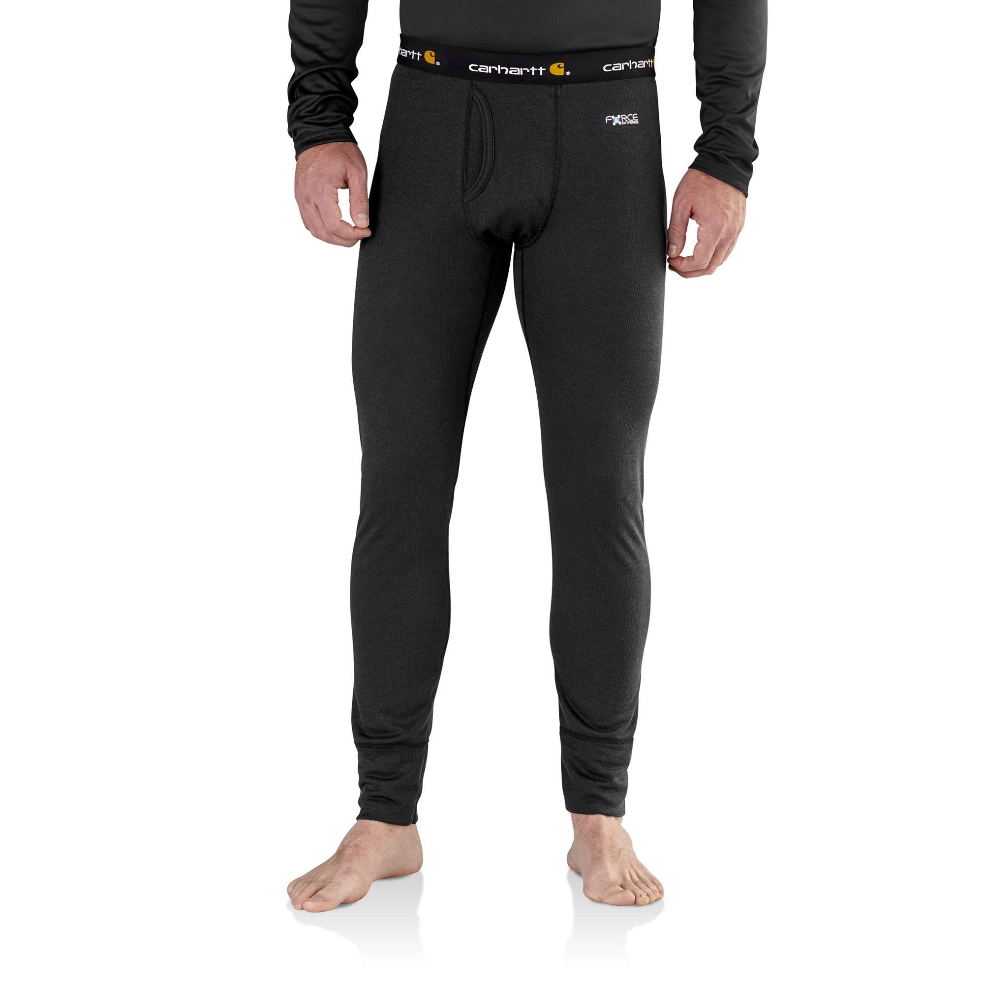 Carhartt Men's Base Force Extremes Cold Weather Bottom - Black, XL