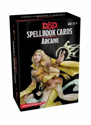 Spellbook Cards: Arcane Card Set