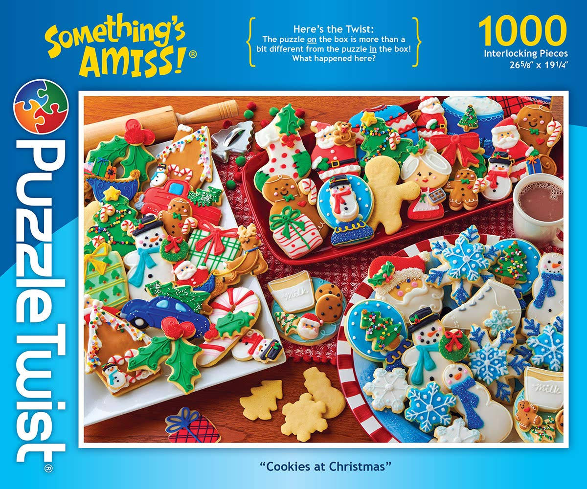 PuzzleTwist Cookies at Christmas