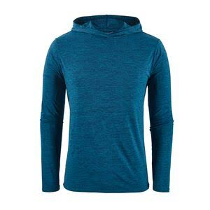 Patagonia Men's Capilene Cool Daily Hoody - Blue - 45310 - M