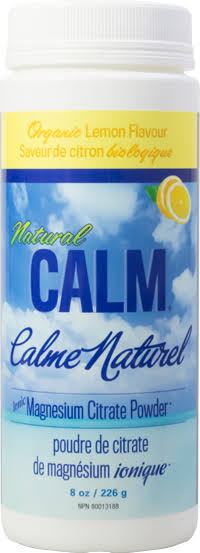 Natural Calm Magnesium Citrate - Lemon, 8oz