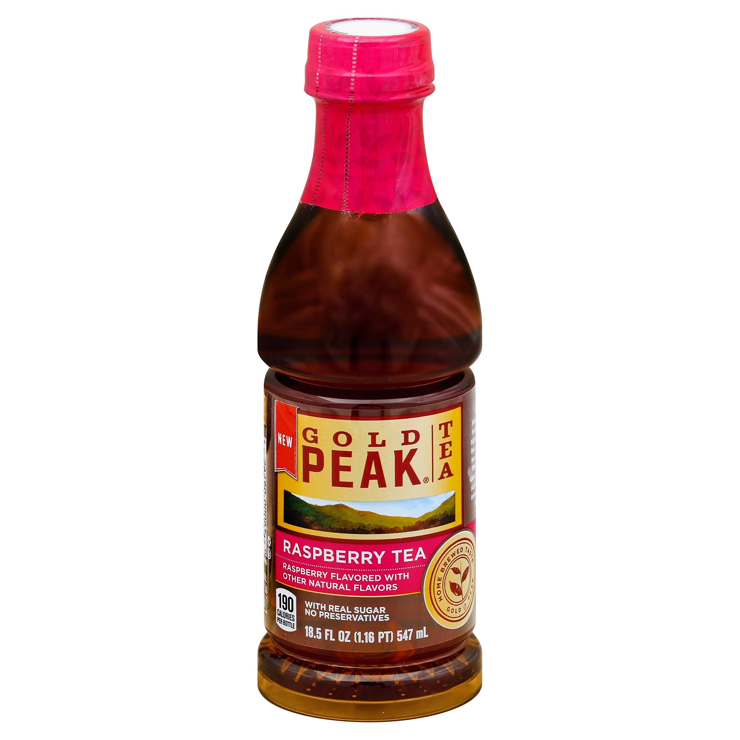 Gold Peak Tea, Raspberry - 18.5 fl oz
