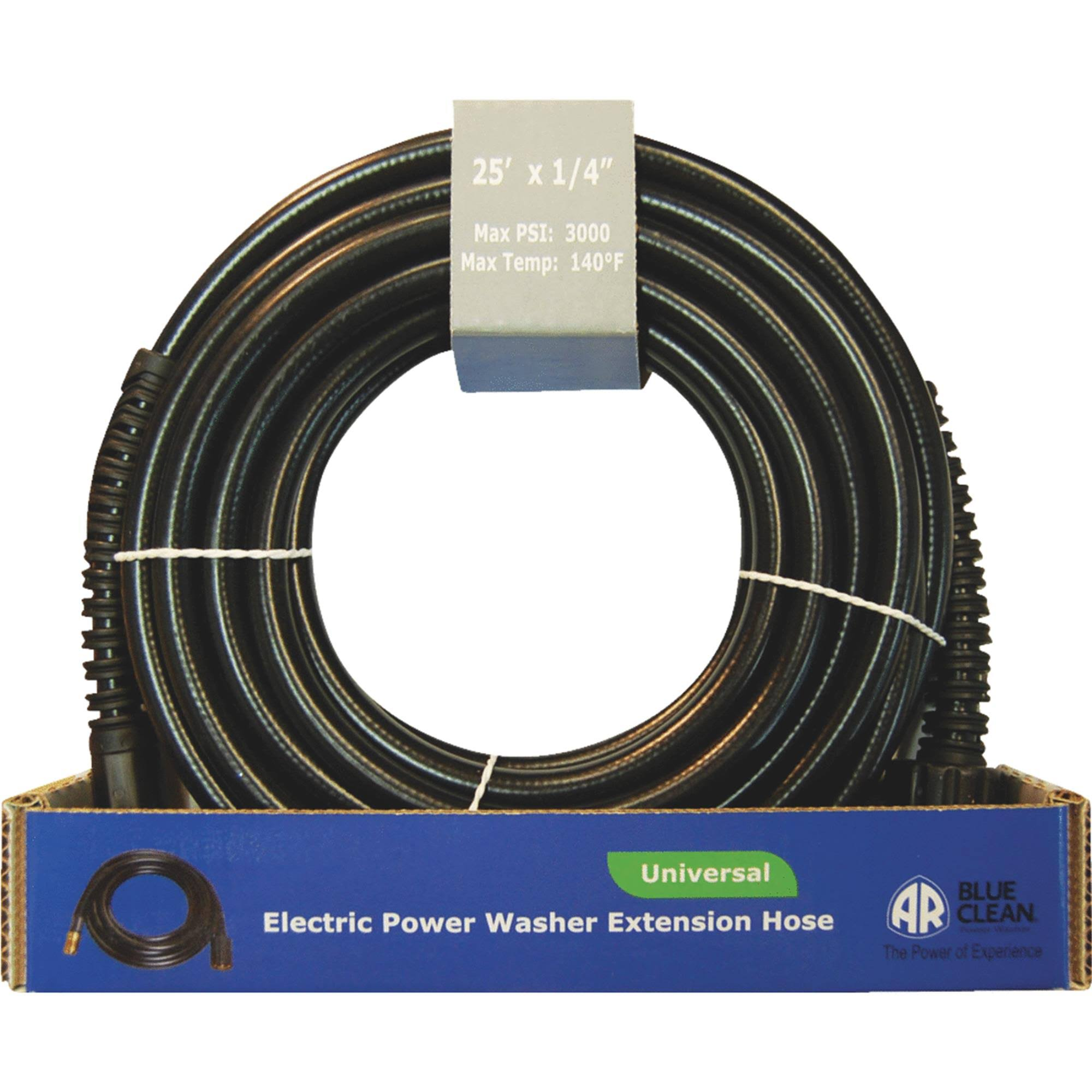 AR North America Hi Pressure Extension Hose - 25' x 1/4""