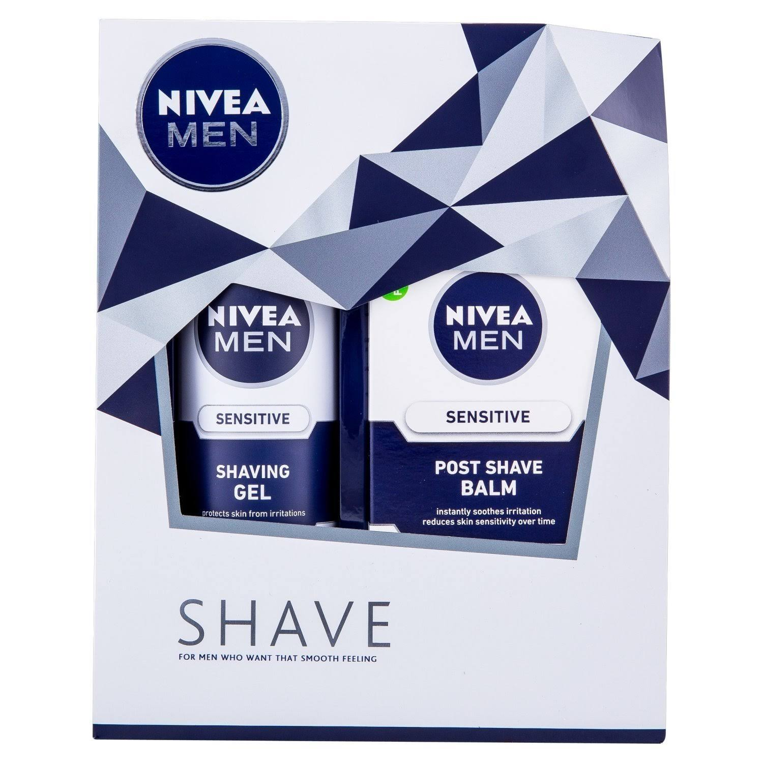 Nivea Men's Shaving Gift Set - 2pcs