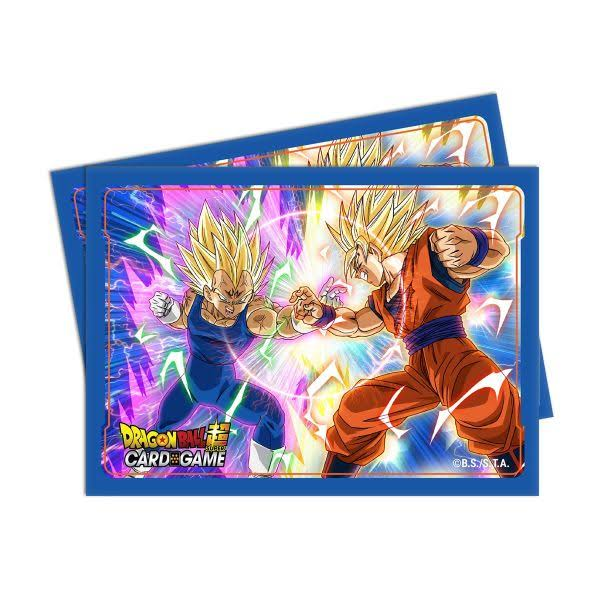 Ultra Pro Dragon Ball Super Deck Protector - Vegeta Vs Goku, 65ct