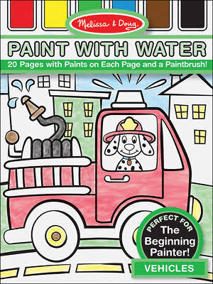 Melissa & Doug Paint with Water - Vehicles