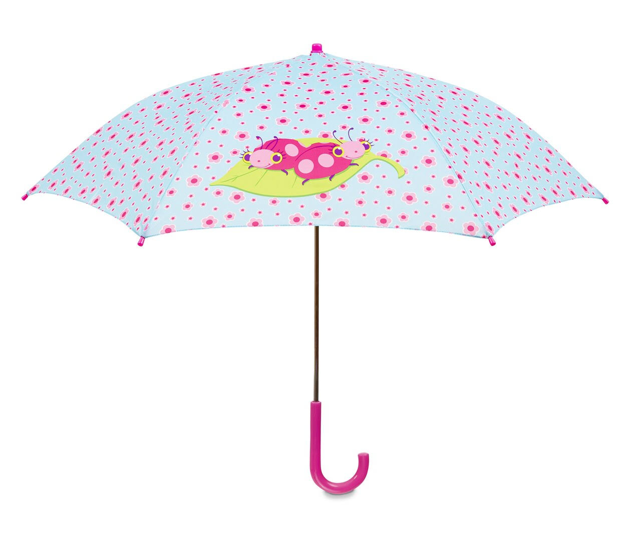 Melissa and Doug Trixie Ladybug Umbrella for Kids - with Safety Open and Close