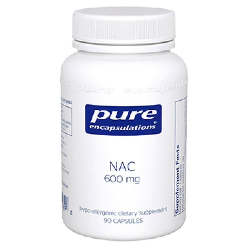Pure Encapsulations NAC Multivitamins - 600mg, 90ct