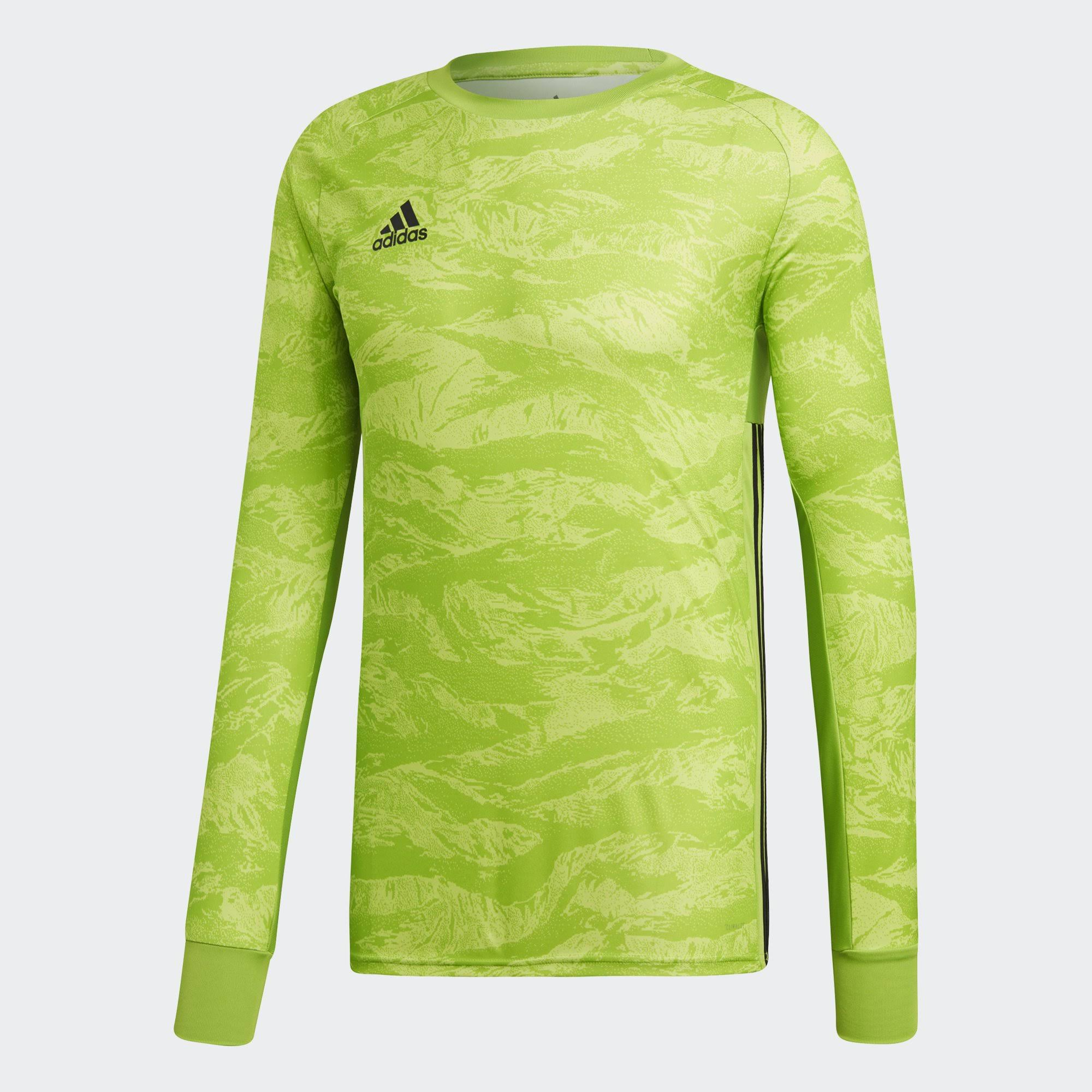 Adidas Adipro 19 Long Sleeve Goalkeeper Jersey - Green - XL