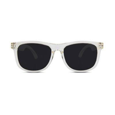 Hipsterkid Sunglasses White - Clear Square Sunglasses
