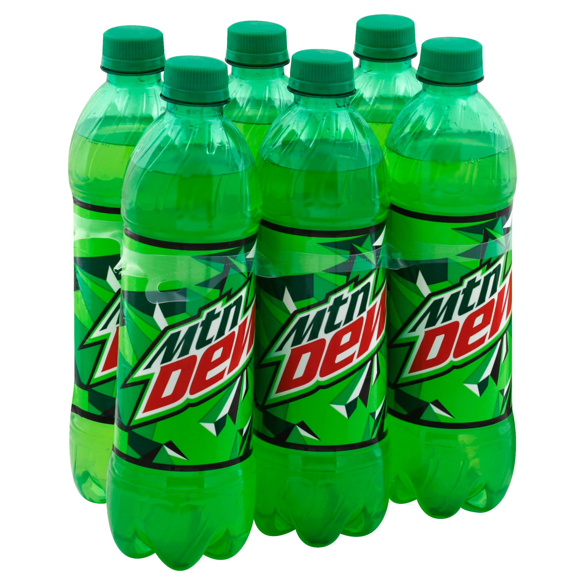 Mountain Dew Soda - 16.9oz, 6pk