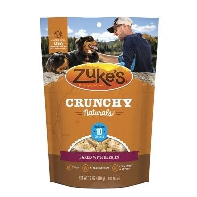 Zuke's Crunchy Naturals Baked with Berries 10S Dog Treats, 12 oz