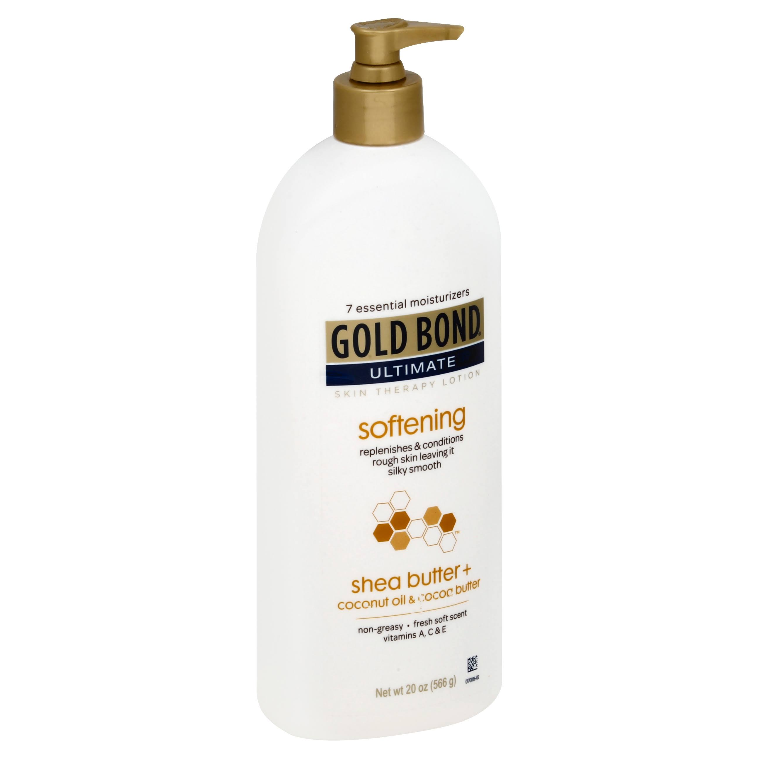 Gold Bond Ultimate Softening Skin Therapy Lotion - with Shea Butter, 20oz