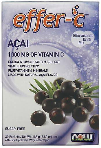 Now Foods Acai Berry Effer-c Dietary Supplement - 30ct