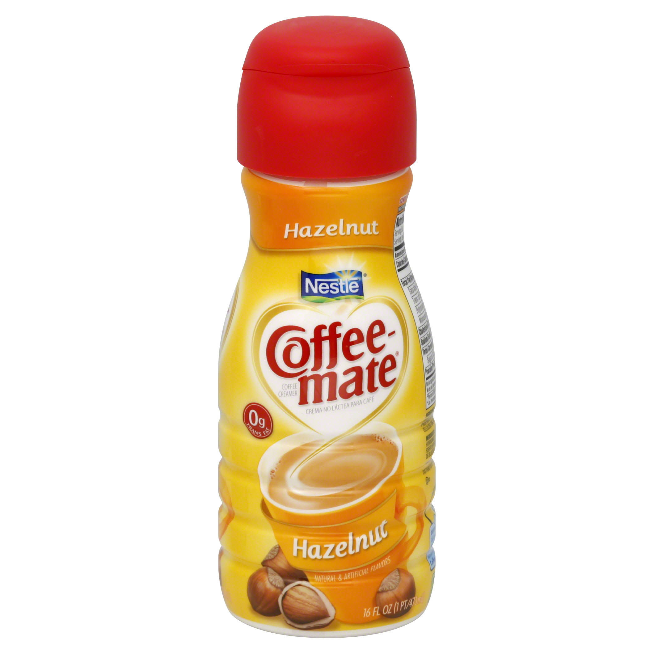 Nestle Coffee Mate Liquid Coffee Creamer - Hazelnut, 16oz