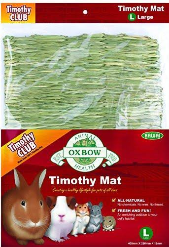 Oxbow Animal Health Grassy Grass Woven Timothy Hay Mat for Pets - Large