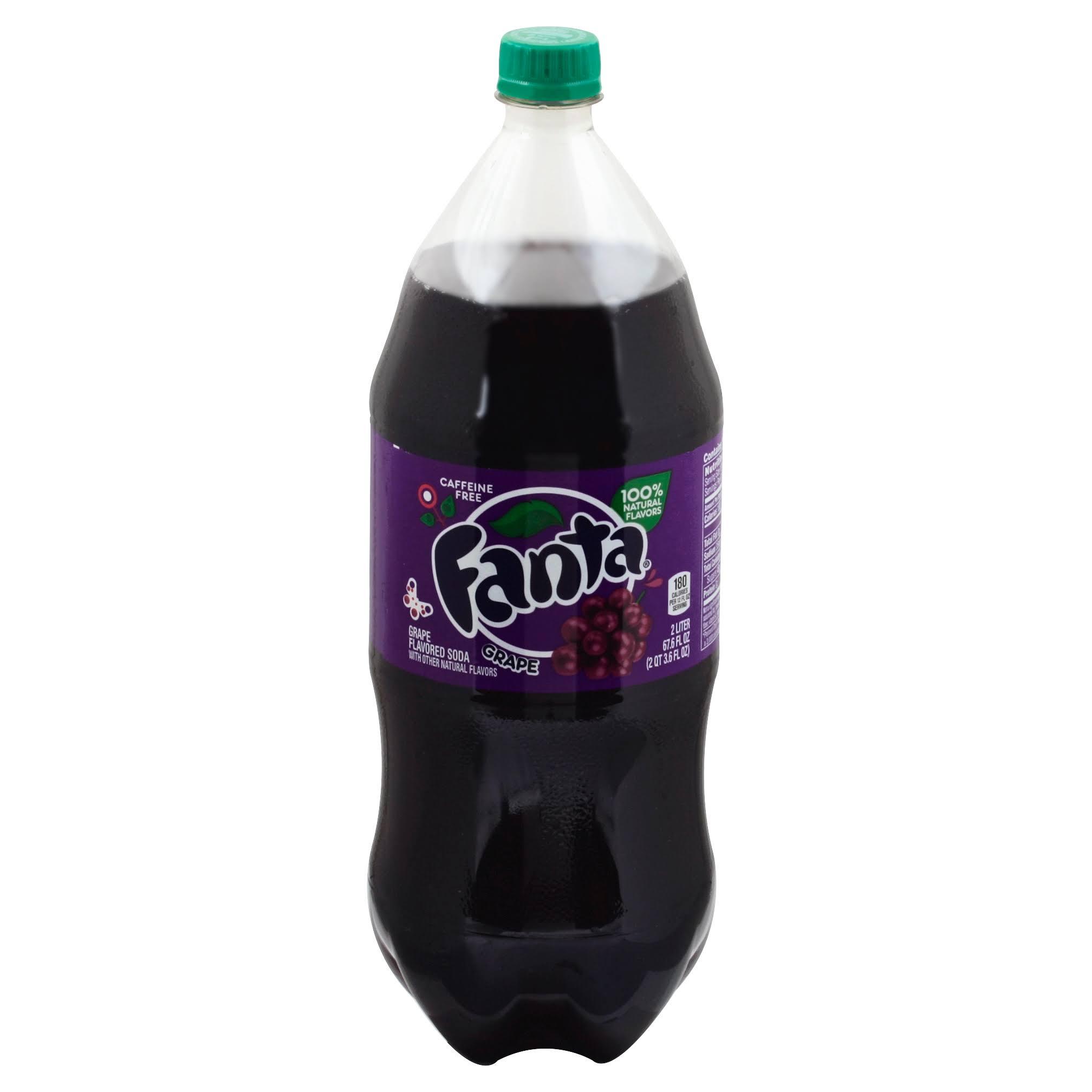 Fanta Grape Soda - 2L