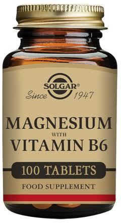 Solgar Magnesium with Vitamin B6 - 250 Tablets