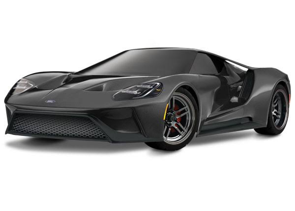 Traxxas Ford Gt Awd Supercar Rtr - Gray, 1/10 Scale