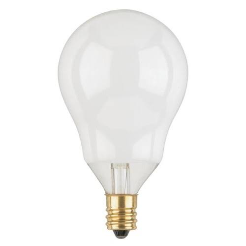 Westinghouse 40 Watts A15 Decorative Incandescent Bulb E12 (Candelabra) Warm White 2 Pk 3914710