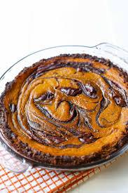 Libbys Pumpkin Pie Mix Ingredients by Nutella Swirled Pumpkin Pie Sallys Baking Addiction
