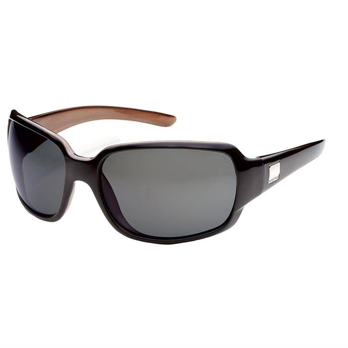 Suncloud Cookie Sunglasses - Black Backpaint Frame, Gray Polarized Lens