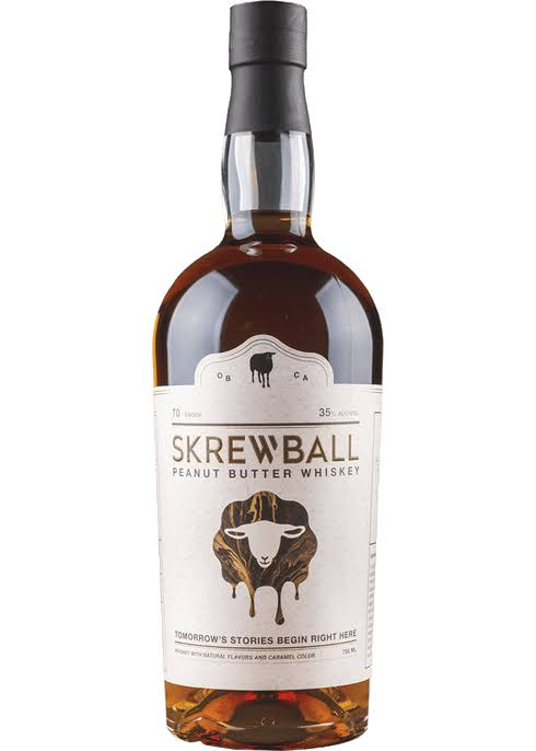 Skrewball Whiskey, Peanut Butter - 750 ml