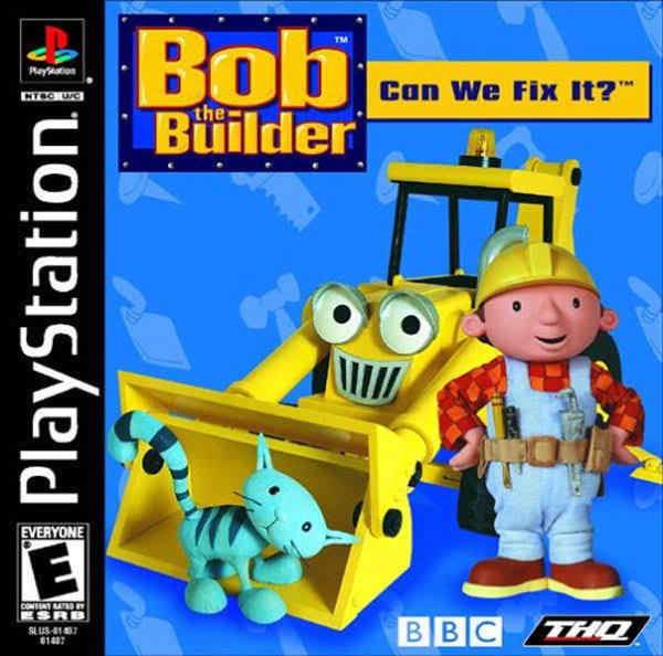Bob The Builder Can We Fix It - PlayStation
