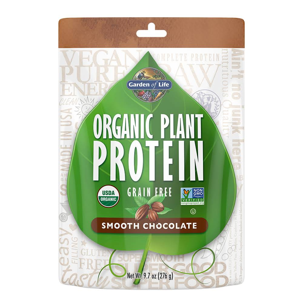 Garden of Life Organic Protein Powder - Smooth Chocolate, 9.7oz