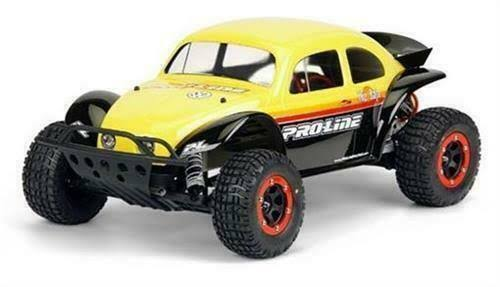 Pro-Line Racing 3238-62 Volkswagen Toy Car - Baja Bug, Clear Body